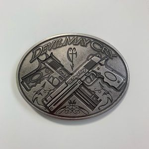 Devil May Cry Silver belt buckle